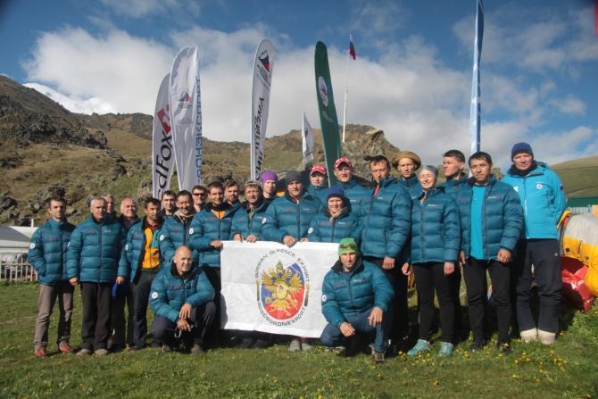 Спортсмены альпинисты-учатники генетического исследования